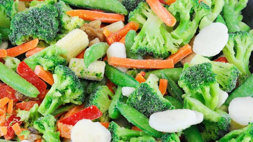 Produkcja mrożonych warzyw pozostanie na wysokim poziomie