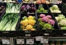 Supermarket: Ceny warzyw w Południowym Tyrolu w drugiej dekadzie listopada