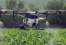 Drony rolnicze wyposażone w coraz większe zbiorniki