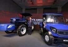 Escorts (właściciel marki i fabryki Farmtrac w Mrągowie) prezentuje koncepcję pierwszego hybrydowego ciągnika w Indiach na Esclusive 2019