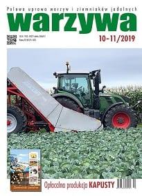 Czasopismo Warzywa 10-11/2019