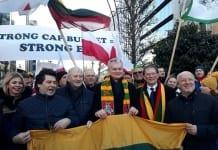Protest rolników z Europy Centralnej i Wschodniej w Brukseli