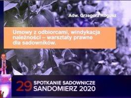 Umowy z odbiorcami, windykacja należności - warsztaty prawne dla producentów owoców i warzyw